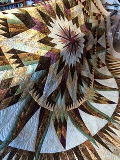 Amazon Star, Quiltworx.com, Made by Mary Schumacher, Quilted by Karrie Ann's Custom Quilting