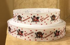 5 YDS Mickey and Minnie Pirate Ribbon by DCLRibbons on Etsy https://www.etsy.com/listing/192421960/5-yds-mickey-and-minnie-pirate-ribbon