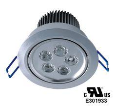 LED Plafonnier 5 WATTS 110VOLTS UL