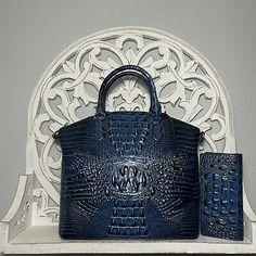 Brahmin Large Duxbury Satchel & Ady Wallet SET Maritime 749034337880 | eBay Brahmin Handbags, Leather Backpack, Dust Bag, Studs, Satchel, Handmade Items, Pocket, Things To Sell, Wallet