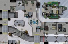 Chris West's Maps of Mastery.  Great place to get maps for Star Wars Miniatures or other RPGs