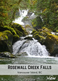 Rosewall Creek Falls is one of the many accessible (and truly magnificent) waterfalls found on Vancouver Island. If you are planning a trip to VI soon, make sure this hike is on your list! Maui Vacation, Big Island Hawaii, Camping World, Vancouver Island, British Columbia, Columbia Travel, Columbia Road, Canada Travel, Island Life