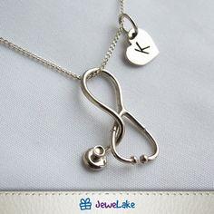 Medical Gifts, Nurse Gifts, Medical Art, Nurse Jewelry, Jewelry Gifts, Graduation Jewelry, Nurse Stethoscope, Nursing Graduation, Jewelry Design