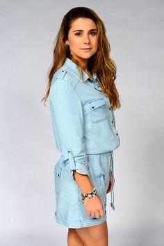 Tessa de josselin aka billie Ashford Home And Away Cast, Love Home, Celebs, Celebrities, Actresses, Shirt Dress, Wedding Dresses, Casual, Emma Stone