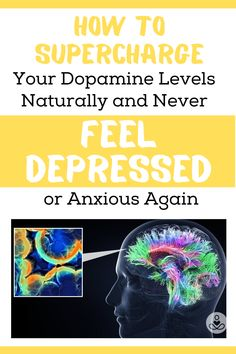 Dopamine is the brain's master chemical. This single neurotransmitter is responsible for a plethora of mental and physical processes. By learning how to stimulate dopamine levels naturally, you can overcome depression, anxiety, apathy, and fear, while boosting feelings of pleasure created by this amazing little neuron. #anxiousthoughts #anxiouschild #anxiousdogs Healthy Facts, Feeling Depressed, Facts For Kids, Neurotransmitters, Neurons, Healthy Kids, Anxious, Depression, Brain