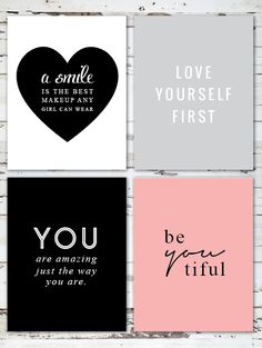 free printables via Whimseybox!! #quotes #wordstoliveby