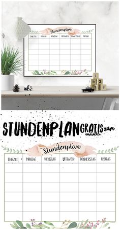 Finally back to school: free timetable for printing. - back to school – timetable free to print. The school can (re) start! Binder School, Printable Designs, Free Printables, Hijab Styles For Party, Diy 2019, School Timetable, Weekly Planner Printable, Teaching Time, Back To School Supplies
