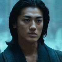 Jin Akanishi in 47 Ronin.  He did a good job in his role and he's a sexy guy!  The critics panned 47 Ronin but it was actually decent.  I think the critics were just hating on Keanu Reeves; I'm glad I watched the movie despite their poor reviews.
