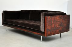 Rosewood case sofa by Milo Baughman for Thayer-Coggin