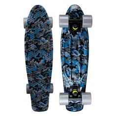 ea5b83c6cc849a Zycle Fix Mayhem Penny Style Skateboard (Camouflage