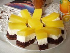 Fanta szelet, egy igazán üdítő sütemény – Katarzis Hungarian Desserts, Cake Cookies, Cake Recipes, Bakery, Cheesecake, Deserts, Food And Drink, Sweets, Snacks