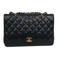 Chanel Black Caviar Jumbo Bag New Chanel Bags 2bbc0b2ff41e2