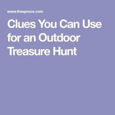 The grandchildren will love this outdoor treasure hunt, and grandparents don't even have to come up with the clues. School Scavenger Hunt, Scavenger Hunt Riddles, Outdoor Scavenger Hunts, Scavenger Hunt Birthday, Kids Treasure Hunt Clues, Treasure Hunt Riddles, Treasure Hunt Birthday, Outside Activities For Kids, Family Fun Games