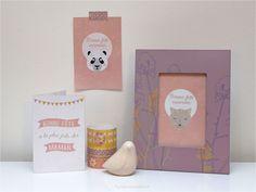 """Des cartes pour la fête des mères """"En Route Félicie"""" (free printable) - Purple Jumble  DIY tuto creation carte fête des mères"""