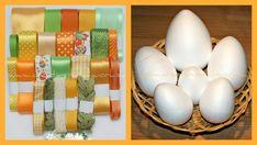 Kolekcie stúh vhodné na nešitý patchwork a dekorovanie. Polystyrénové veľkonočné sety obsahujú rôzne veľkosti vajec. Quilted Ornaments, Ribbons, Eggs, Scrappy Quilts, Bias Tape, Grinding, Egg