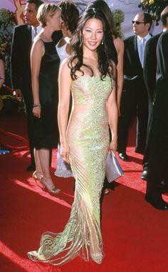 Lucy Liu in Versace - 2000 Emmy Awards