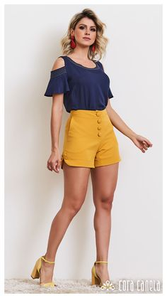 LOOK BOOK 9 – Cora Canela Summer Fashion Outfits, Short Outfits, Stylish Outfits, Dress Shirts For Women, Clothes For Women, Curvy Women Fashion, Casual Chic Style, Blouse Styles, Mode Style