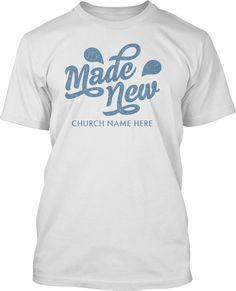 Made New Baptism Design #521