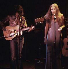 Stevie Nicks Lindsey Buckingham early 70's