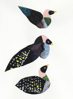 NaokoYamaji #birds #illustrations #art