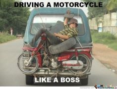 Another Meanwhile In Indonesia Well Driving Motorcycle Like A Very