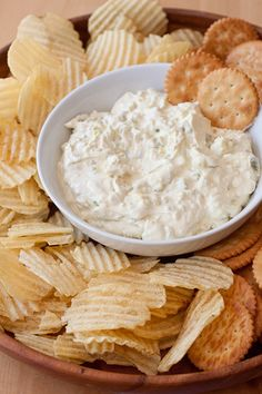 8oz softened cream cheese, 1 cup finely diced dill pickles, 1/2 cup sour cream, 1/2 cup finely diced deli ham, 1 TBSP worsteischier sauce, mix together and refrigerate at least 1 hour. Serve with chips or wheat thins. THIS IS MY TAKE ON IT.