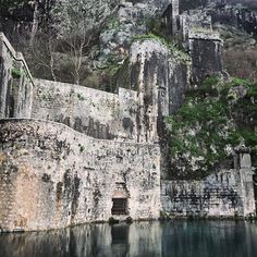 Ruins in Kotor, Old Town  #kotor #montenegro #travel #explore #atlasobscura #oldtown #vagabond