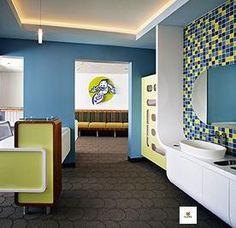 Pediatric office design by Kevin Richardson of Twenty Inc