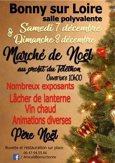 Marché de Noël de Bonny sur Loire 10h-18h et 10h -17h Salle polyvalente, Bonny sur Loire (45)