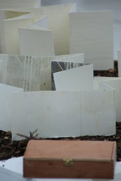 Book Art by Gloria Ceballos exhibiting at turn the page artists' book fair 2012