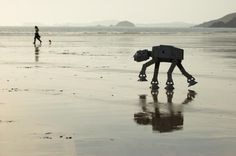 Happy little AT-AT