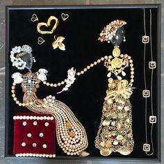 A personal favorite from my Etsy shop https://www.etsy.com/listing/580738396/sisterhoods-vintagw-jewelry-art