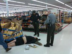 Totally normal... at Walmart