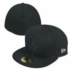 b52098f4a4607 Los Angeles Dodgers New Era MLB Basic 59Fifty Fitted Hat (Black) New Era,