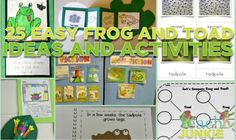 25 Easy Frog and Toad Ideas and Activities Teaching frog and toad will feel simple with these 25 ideas and activities. You'll find science and reading sources about frogs and toads, the life cycle of a frog, frog facts and a frog craft or t. Second Grade Science, Teaching First Grade, Frog And Toad, Frog Frog, Frog Facts, Frog Theme, Inquiry Based Learning, Preschool Science, Science Ideas