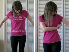 how to tailor shirts & dresses .http://www.shrimpsaladcircus.com/2013/02/how-to-tailor-shirts-dresses-sewing-101.html#