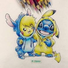 """6,559 Likes, 504 Comments - Art / Crafts Promotions (@disneytatts) on Instagram: """"Two of my favorite characters! ❤❤❤"""""""