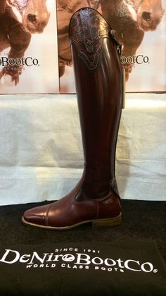 DeNiro riding boots from Italy - available through Mobile Horse Supply / SE Sport Horse www.sesporthorse.com