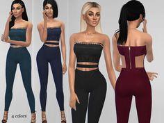 Sims 4 CC's - The Best: Lauren Jumpsuit by Puresims