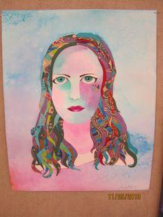 Art 2 - Self portrait.  (Self Portrait)