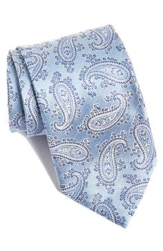 David+Donahue+Paisley+Silk+Tie+available+at+#Nordstrom