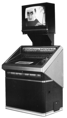 1985, Rowe-AMI's Model 89 Video/Music Entertainment Center: For those times you don't just want to hear Gary Numan, you want to SEE Gary Numan. [Jukebox Collector]