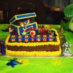 Toy Story Cake Max's pick