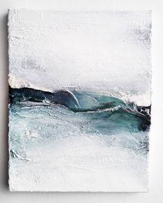 """282 tykkäystä, 5 kommenttia - Marianna Raikkala (@artbymarianna) Instagramissa: """"'Behind the pines' / 27 x 35cm Acrylic paint on canvas.  #painting #abstract #art #artwork…"""""""
