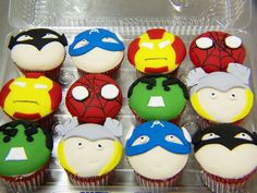The World& most recently posted photos by Animated Cupcakes . Hulk Cupcakes, Cupcake Cakes, Eat Cake, Red Velvet, Bakery, Sweet Treats, Cooking Recipes, Yummy Food, Party