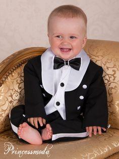 Festliche Babymode! Taufanzug mit Winterjacke Taufkombination Winter-Frederik