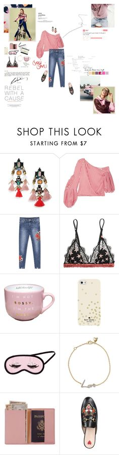 """""""I'm not the girl in your movie, I'm the girl in """"my"""" movie."""" by sarahstardom ❤ liked on Polyvore featuring D'Argent, Sole Society, Hellessy, LoveStories, Kate Spade, H&M, Stephen Webster, Royce Leather, Gucci and Anine Bing"""