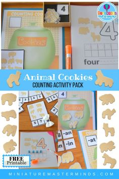 Animal Cookie Free P