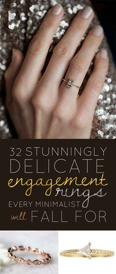 http://rubies.work/0628-multi-gemstone-ring/ 32 Stunningly Delicate Engagement Rings Every Minimalist Will Fall For. YES. Yes to all of these.