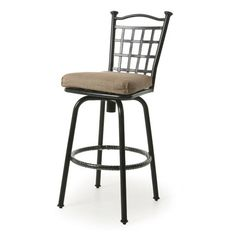 "Red Barrel Studio LaCrosse 30"" Bar Stool with Cushion"